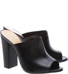 Mule High Heel Black