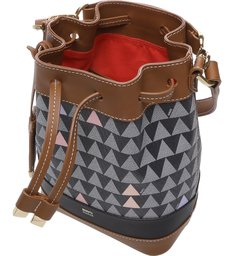 Bucket Bag Triangle Black