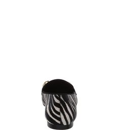 Mocassim Glam Zebra Print
