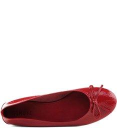 Sapatilha Verniz Red