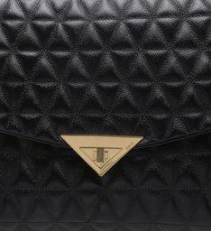Shoulder Bag Matelassê Black