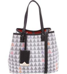 Mini Emma Triangle Pearl - Personalização Bag Charm