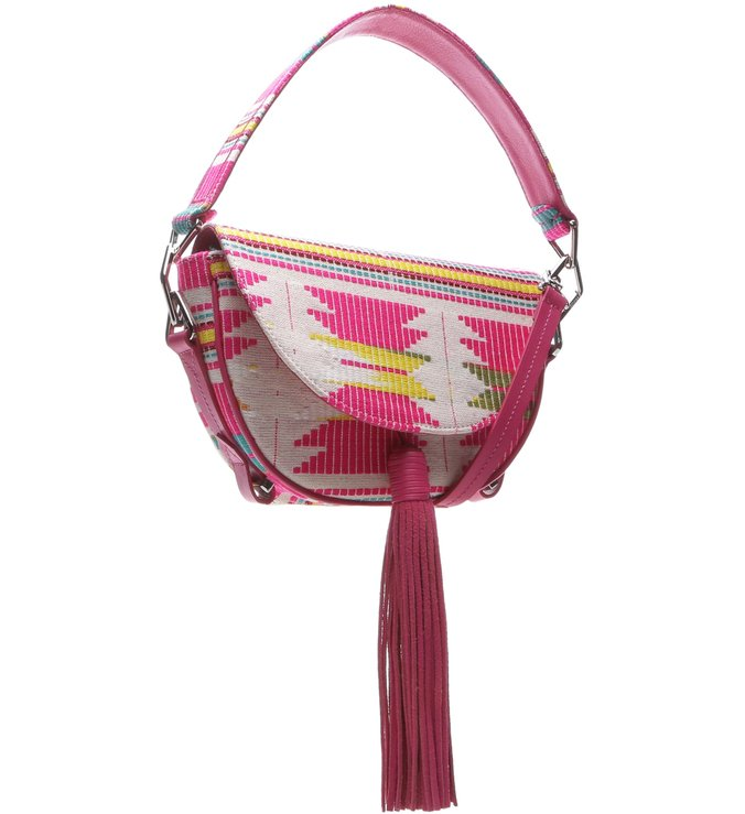 Saddle Bag Print Neon Pink