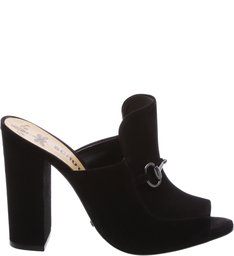 Pré-Venda Mule Lola High Heel Black