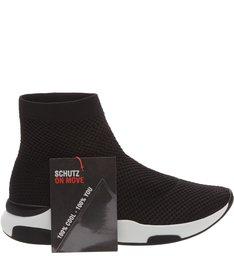 Sock Sneaker Knit Black