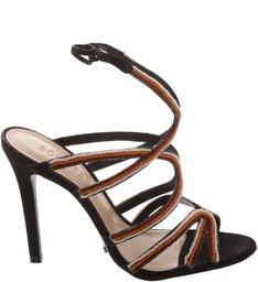 Sandália  Tiras Color Black
