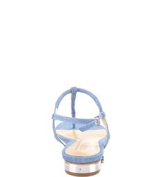Rasteira One Strap Summer Blue Jeans