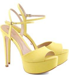 Sandália Meia Pata Candy Yellow