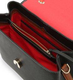 Handbag Triangle Mini Wallet Black