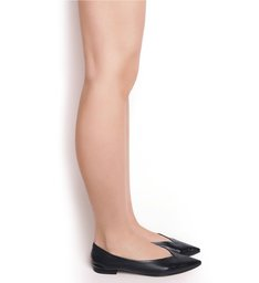 Flat Liza Ballerina V Black