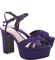 Sandália Carrie Meia Pata Purple