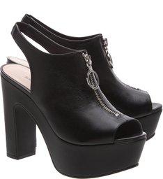 Sandália Clog Zip Black