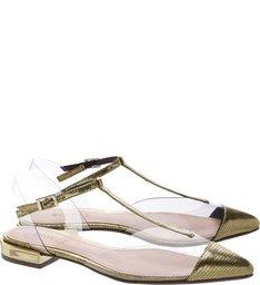Flat Pointy Vinil Gold