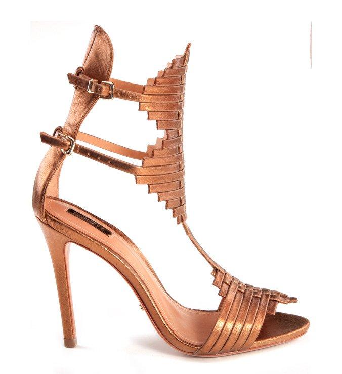 Sandália Gladiadora Bronze