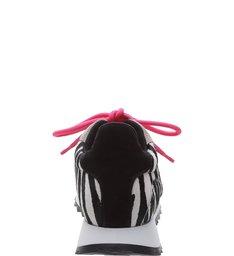 Tênis Retro Mood Zebra Print
