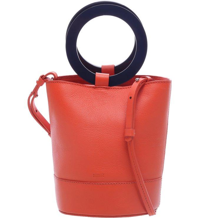 Handbag Argola Hot Red