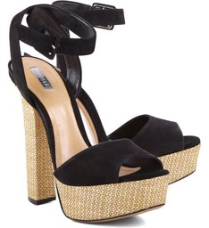 Sandália High Heels Black