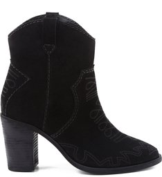 Bota Western Embroided Black