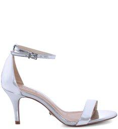 Sandália Gisele Medium Silver