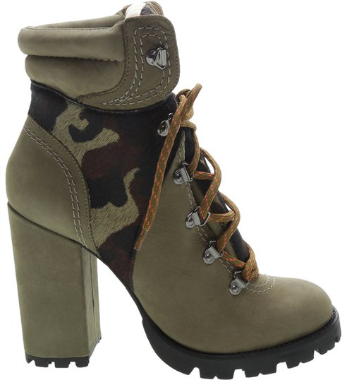 Tractor Boot Camouflage Green