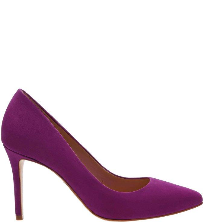 Scarpin Classic Nobuck Pink Lilac