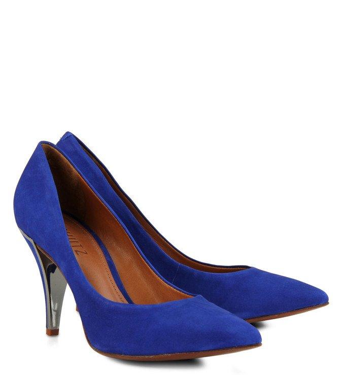 Scarpin Clássico Azul