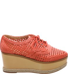 Oxford Flatform Straw Nice Orange