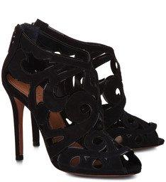 Ankle Boot Recortes Preta