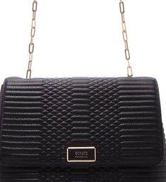 Shoulder Bag Sthé Snake Black