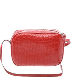 Baby Crossbody Kate Croco Scarlet
