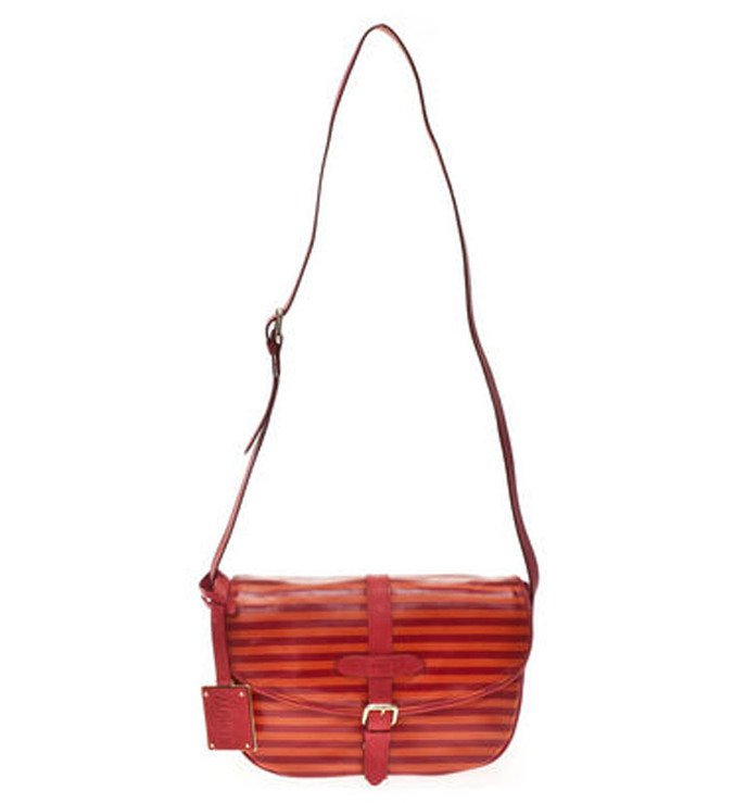 Stripes Satchel Bag