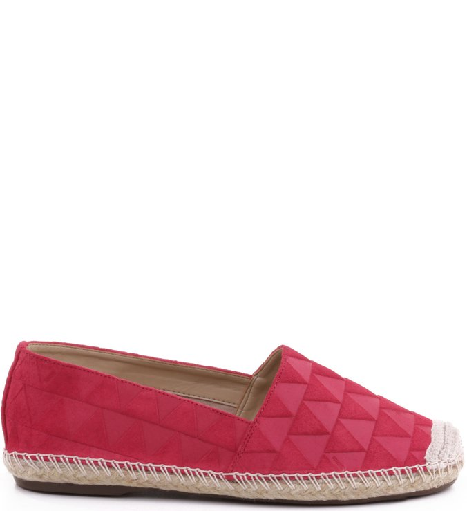 Espadrille Triangle Hot Pink