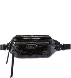 Pochete Rollis Croco Black