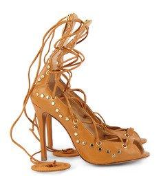 Sandália Amarração Tachas