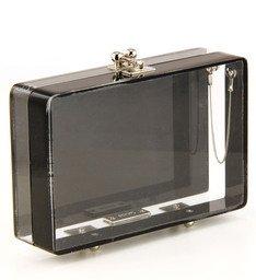 Clutch Cristal Black