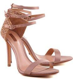 Sandália Double Strap Peach