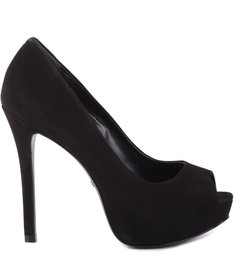 Peep Toe Black