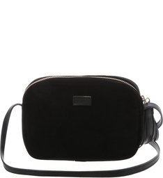 Baby Crossbody Kate Velvet Patches Black PRE-FALL