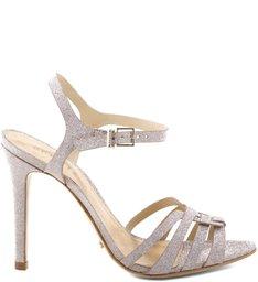 Sandália Knot Shine Gold