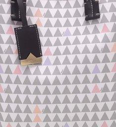 Shopping Bag Nina Triangle Pearl