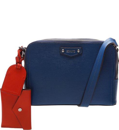 Crossbody Wallet Charm Laura Blue
