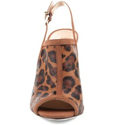 Sandália Fechada Leopard Brison