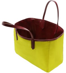 SHOPPING BAG DOUBLE SIDE NYLON RED