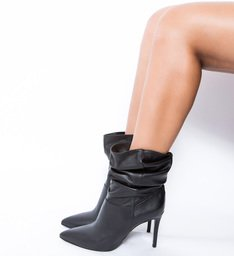 Slouchy Boot Salto Black