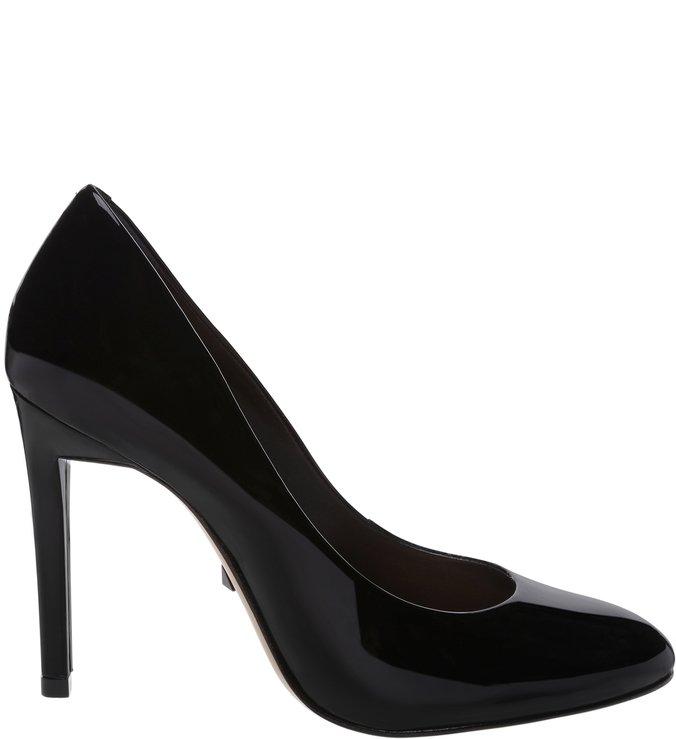 Scarpin Stiletto Verniz Black