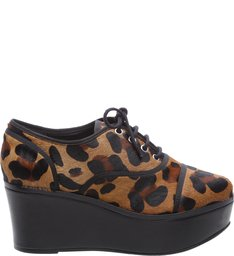 Oxford Flatform Animal Print