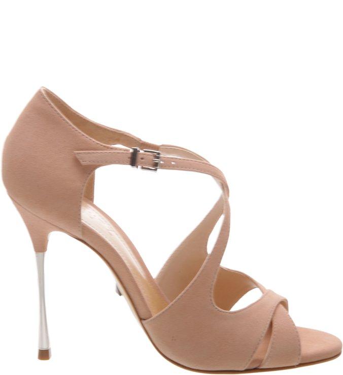 Sandália Pin Heel Curves Neutral