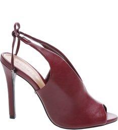 Sandal Boot Wine