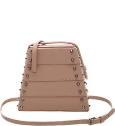 New Bucket Bag Lola Box Studs Neutral