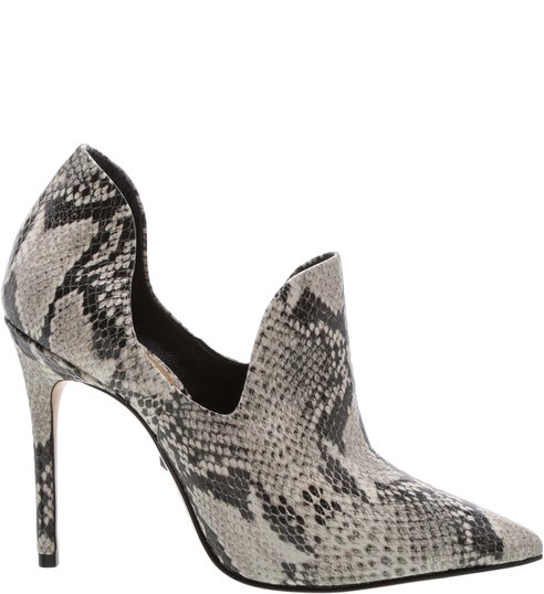 Ankle Boot Cut Out Snake